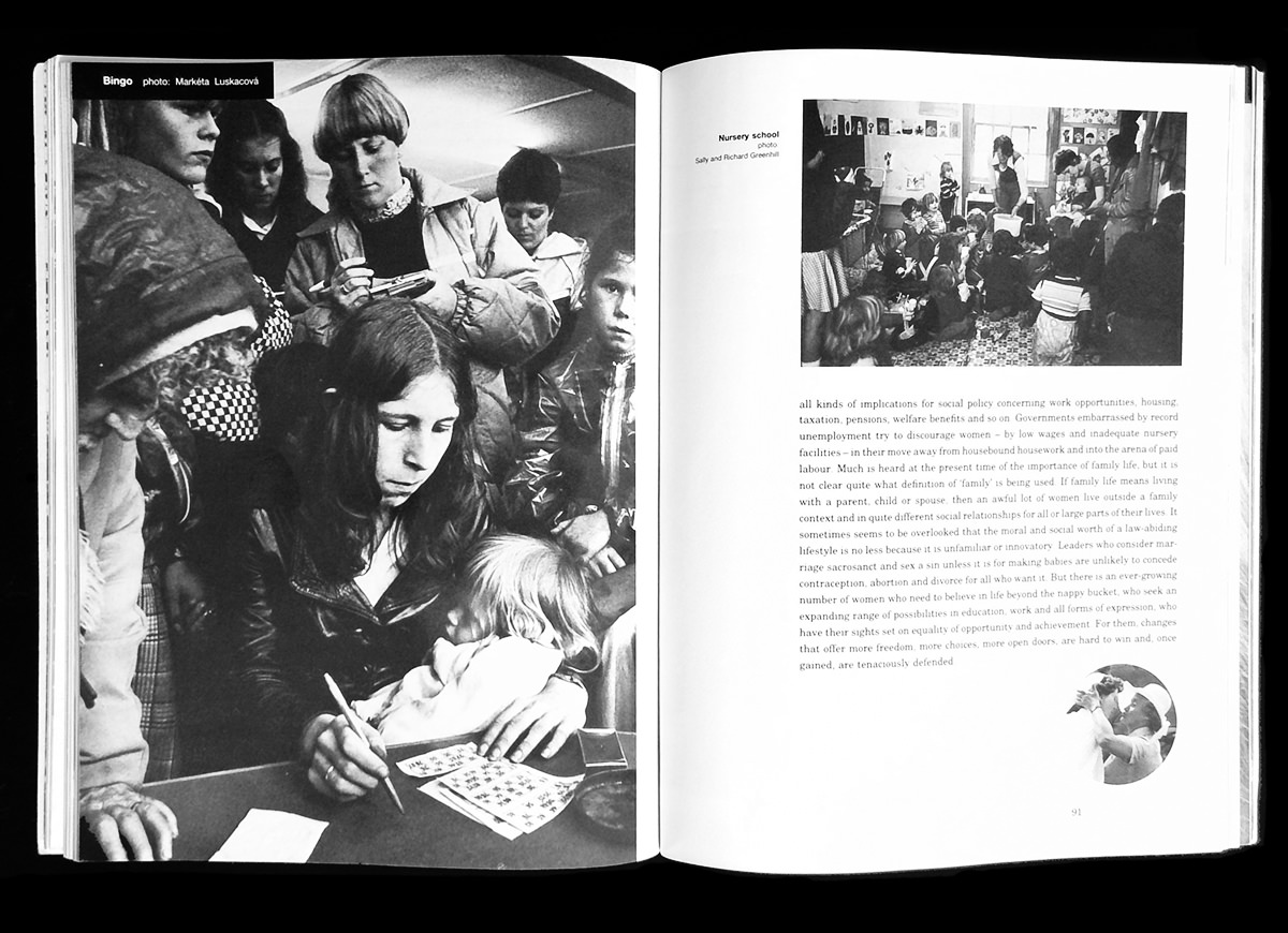Spread from 'A Woman's Place'